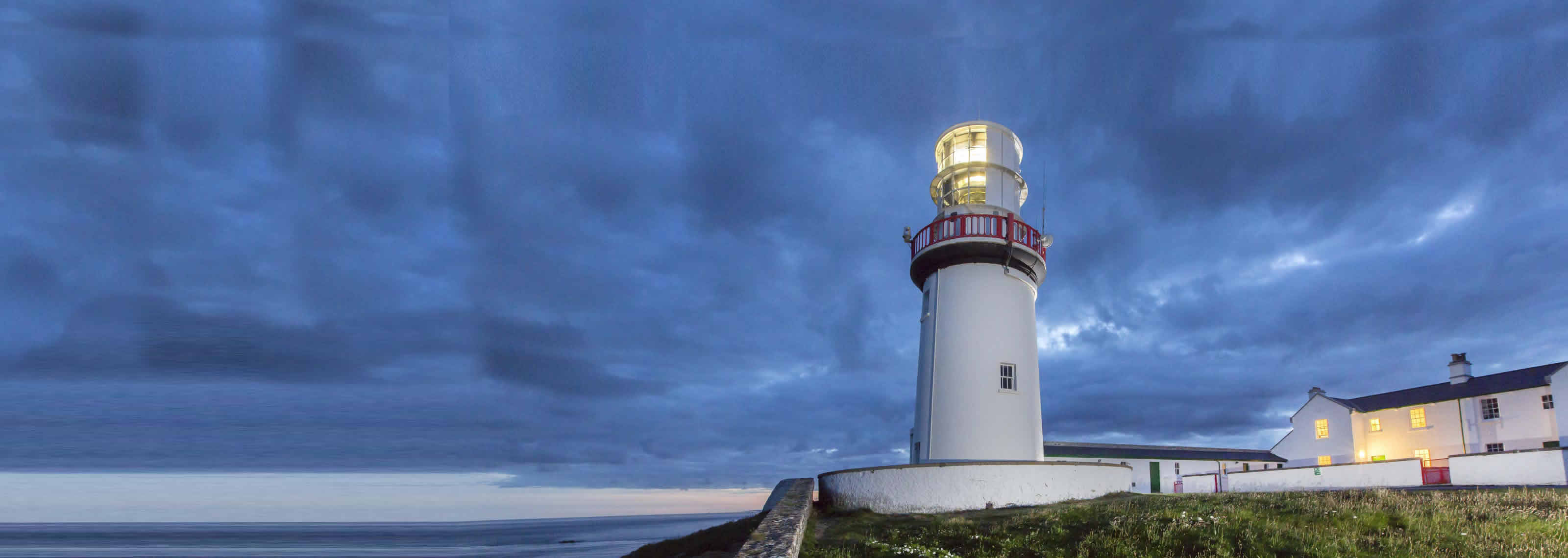 Lighthouses In Ireland Map.Irish Landmark Trust 25 Years Of Heritage