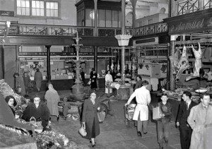 Historic photo of English Market from their website