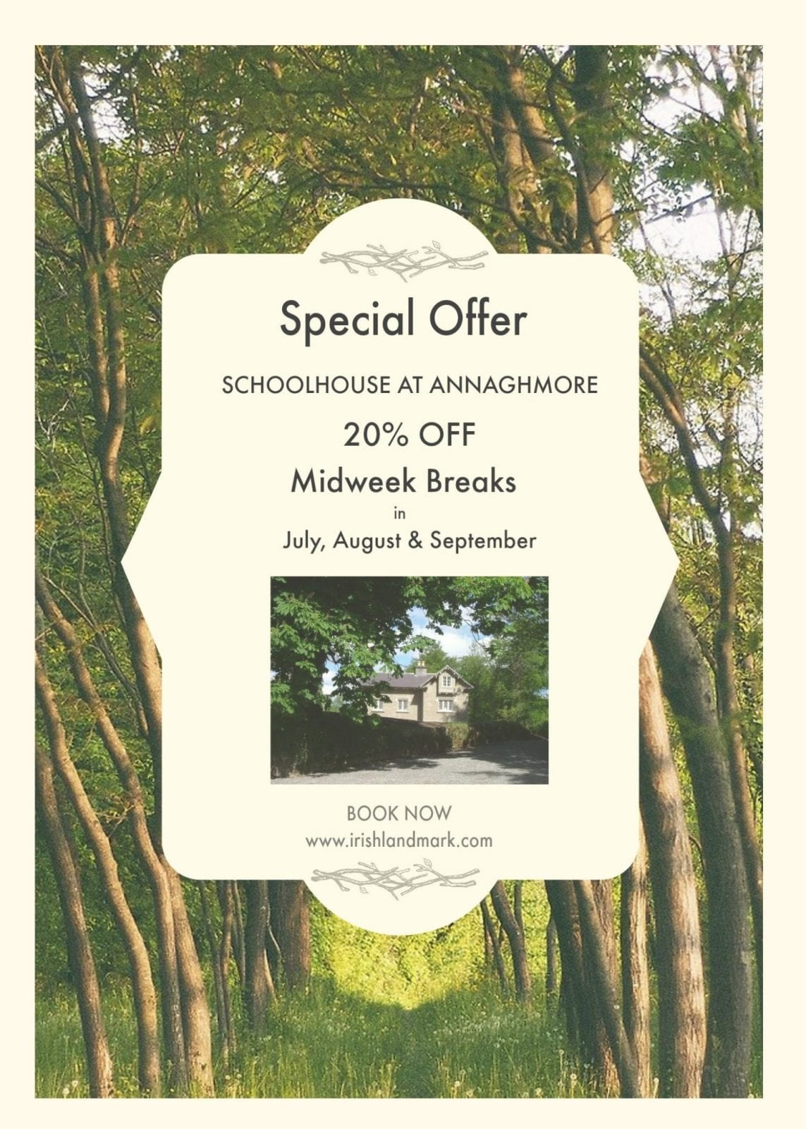 Special Offer for Summer 2017 in Co. Sligo