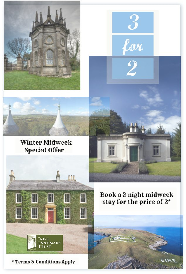 Winter Special Offer – 3 nights for the price of 2