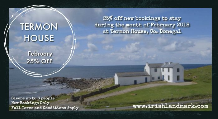 February Special Offer for Termon House in Co. Donegal