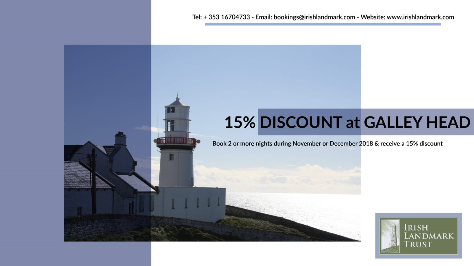 Galley Head Lightkeeper Houses Special Offer