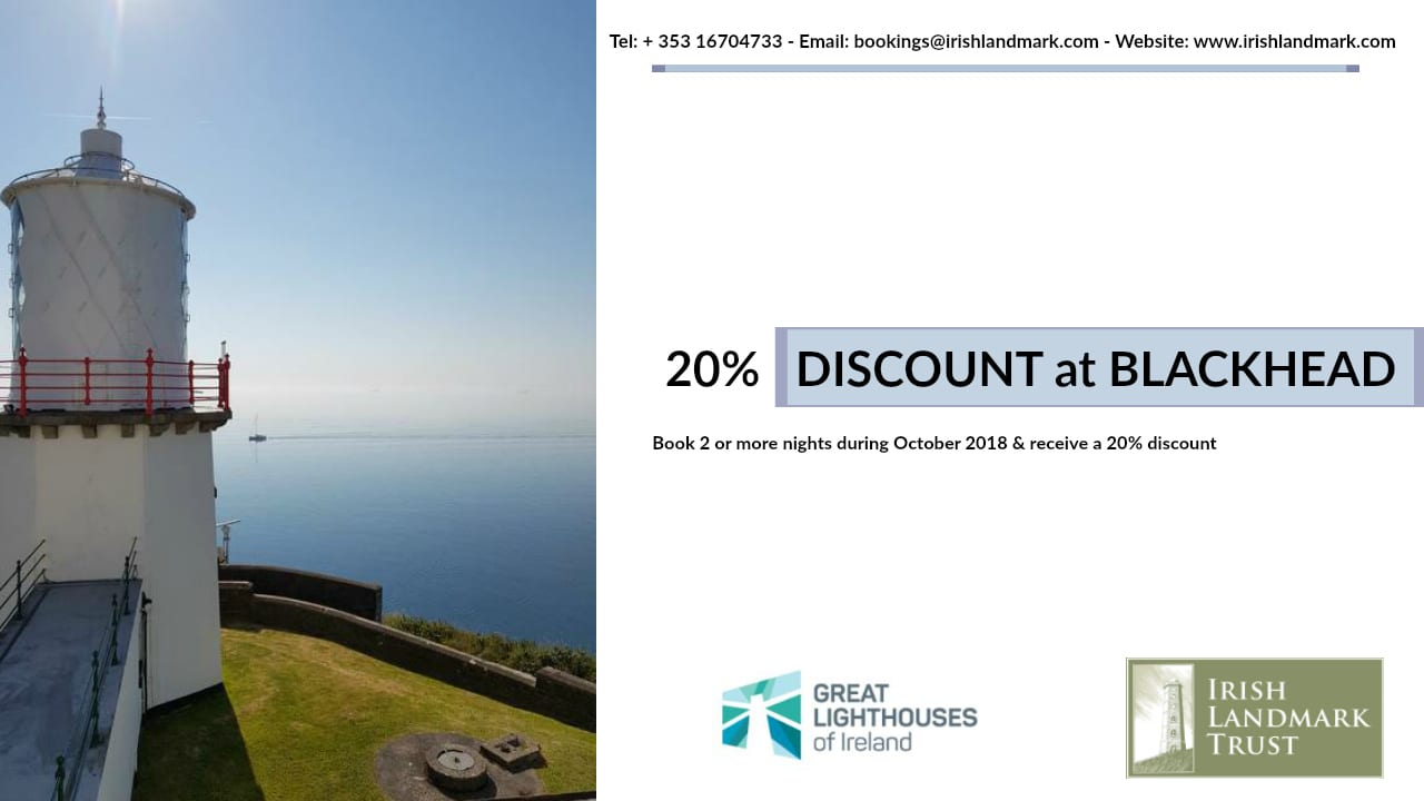 Blackhead Lightkeeper's Houses Special Offer