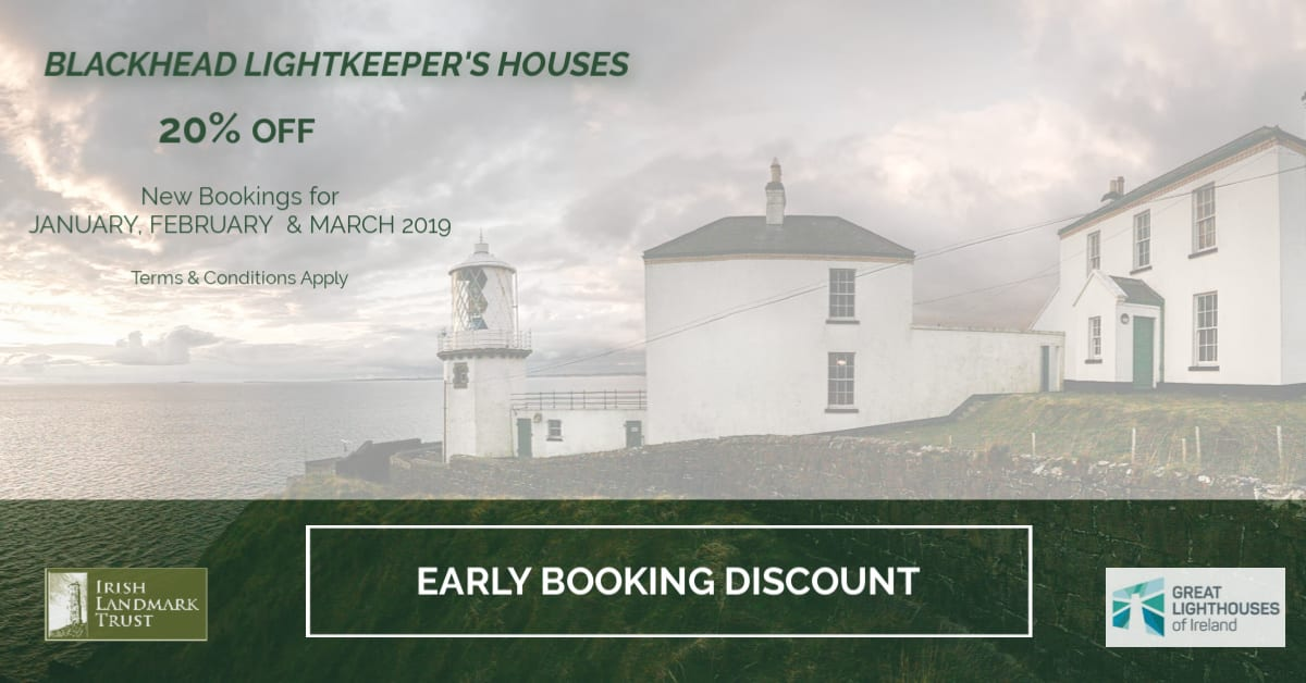 Blackhead Lightkeeper's Houses Early Booker's Discount